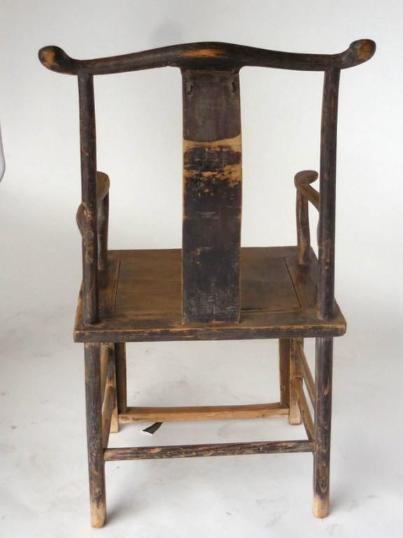 18th Century Qing Dynasty Chinese Woman and Man's Chairs For Sale 1