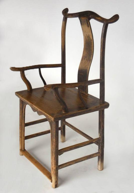 18th Century Qing Dynasty Chinese Woman and Man's Chairs For Sale 2