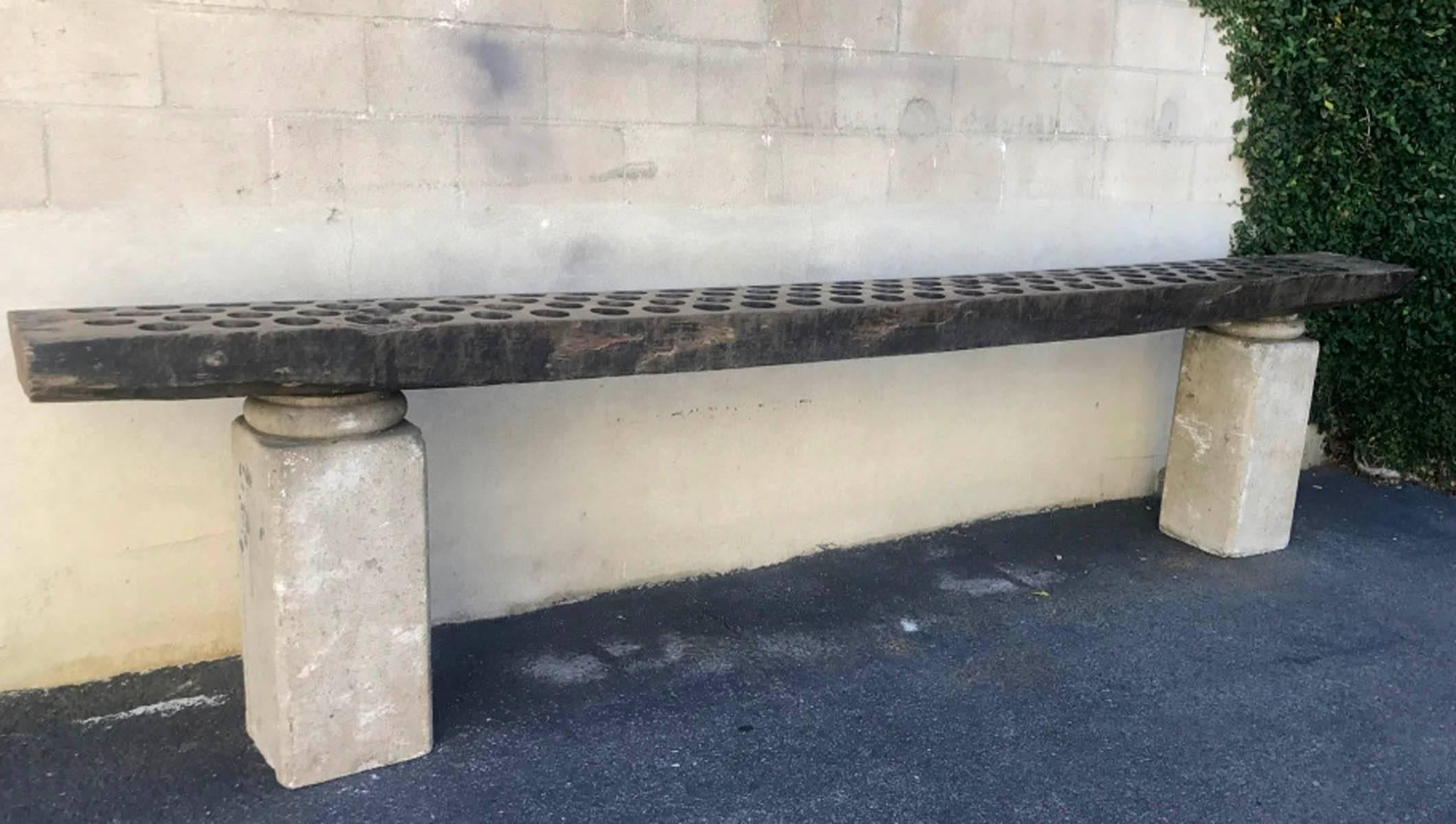 19th century stone column and wood console for sale at 1stdibs rh 1stdibs com