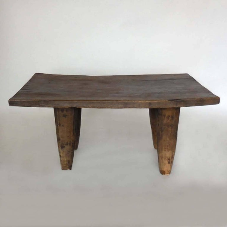 Teak Coffee Table South Africa: African Senufo Tribe Table At 1stdibs