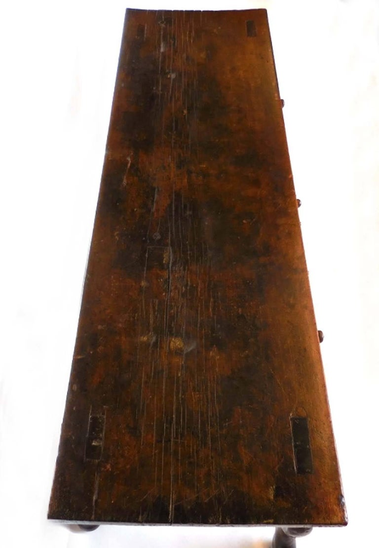 19th Century Spanish Colonial Carved Table For Sale