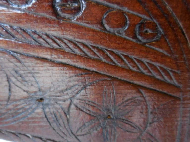 Spanish Colonial Carved Table For Sale 1