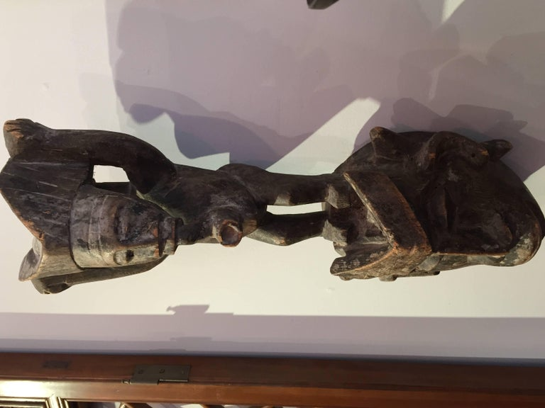 19th Century Central African Mask In Excellent Condition For Sale In East Hampton, NY
