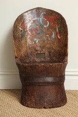 """Norwegian Folk Art """"Dugout"""" Chair"""