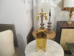 """A Pair of Custom """"Croisillon"""" Lamps in the Jean Michel Frank Manner"""