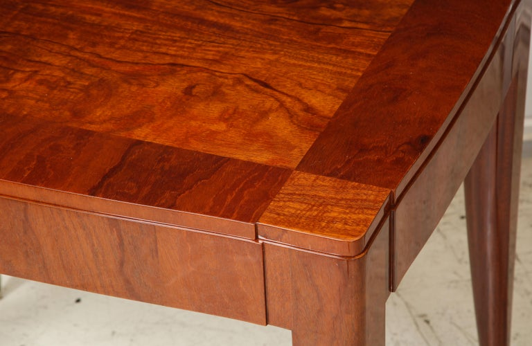 Contemporary Bespoke Table in the Manner of Jules Leleu For Sale