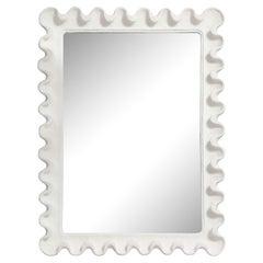 Bespoke Undulating Plaster Mirror