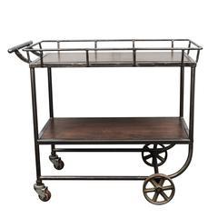 Industrial Cart / Bar Cart