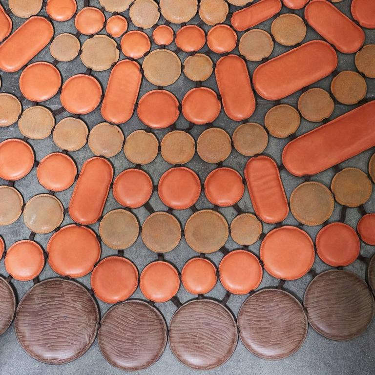 Italian Leather Rug For Sale At 1stdibs