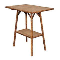 English Victorian Bamboo Table
