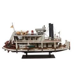 Folk Art Paddle Boat 'Arthur' of Paducah, KY