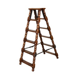 Vintage Jacobean Style Ladder