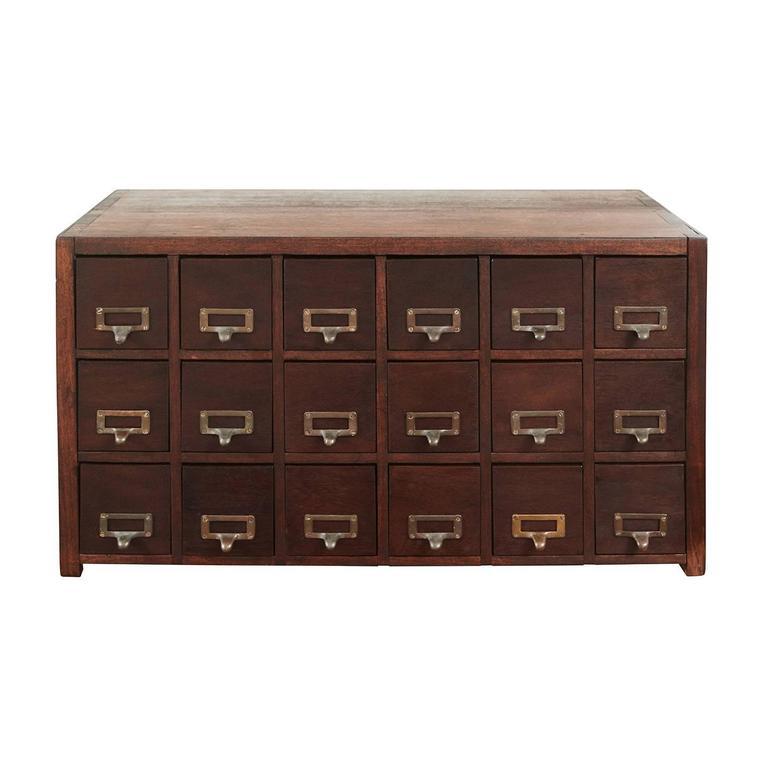 Antique Card File Cabinet 1 - Antique Card File Cabinet At 1stdibs
