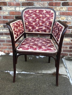Thonet Secessionist Armchair attr. Otto Wagner