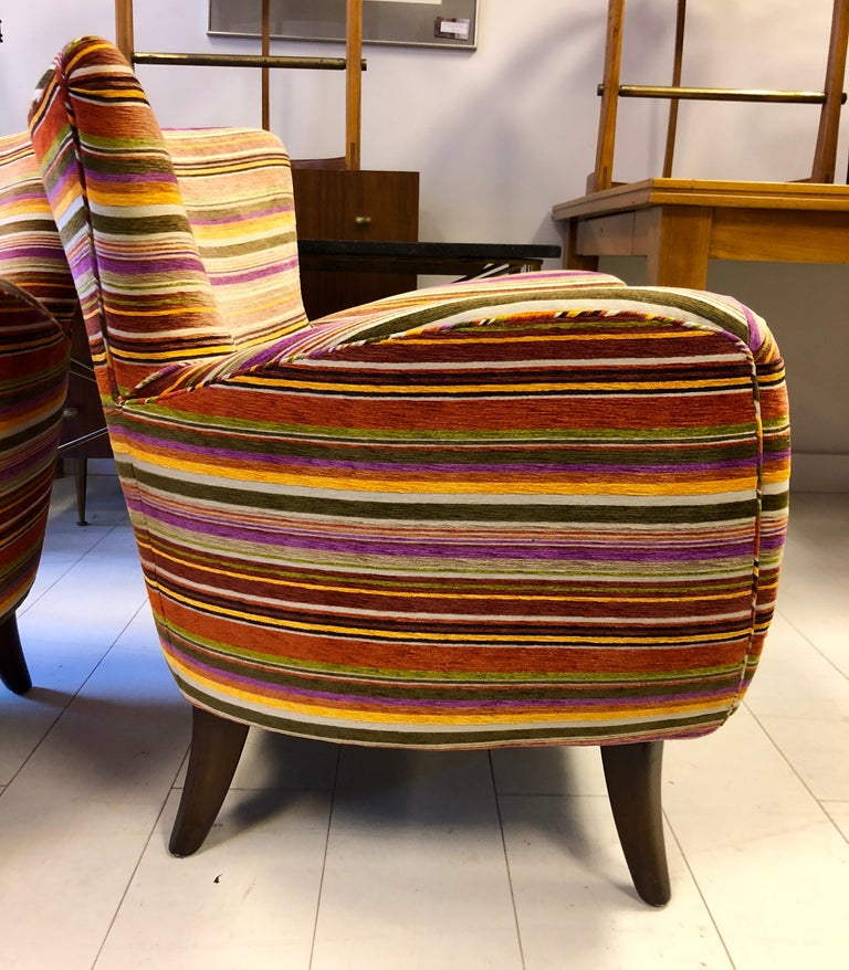 Pair of Ernst Schwadron Club Chairs For Sale 2