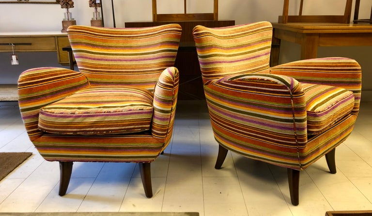 Pair of Ernst Schwadron Club Chairs For Sale 4