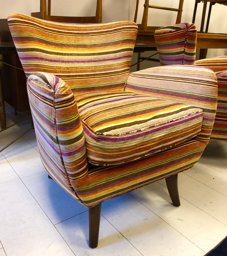 Pair of Ernst Schwadron Club Chairs For Sale 5