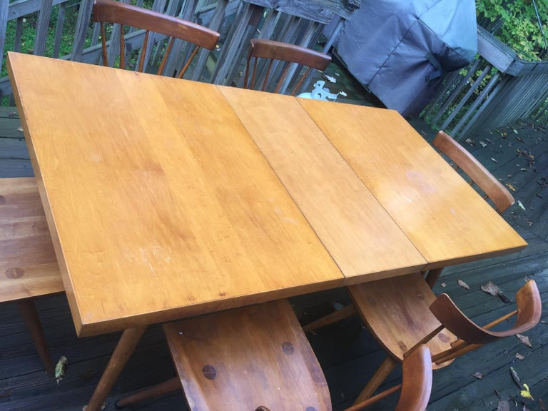 Paul McCobb Planner Group Dining Set For Sale 2