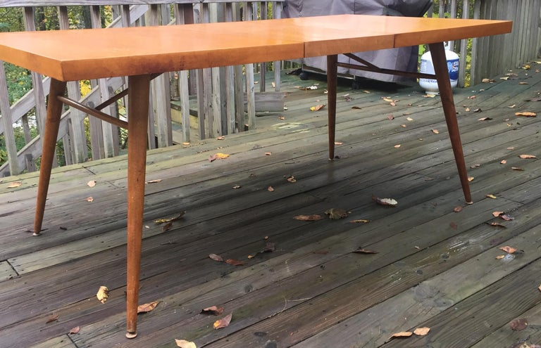 Paul McCobb Planner Group Dining Set In Fair Condition For Sale In Hudson, NY