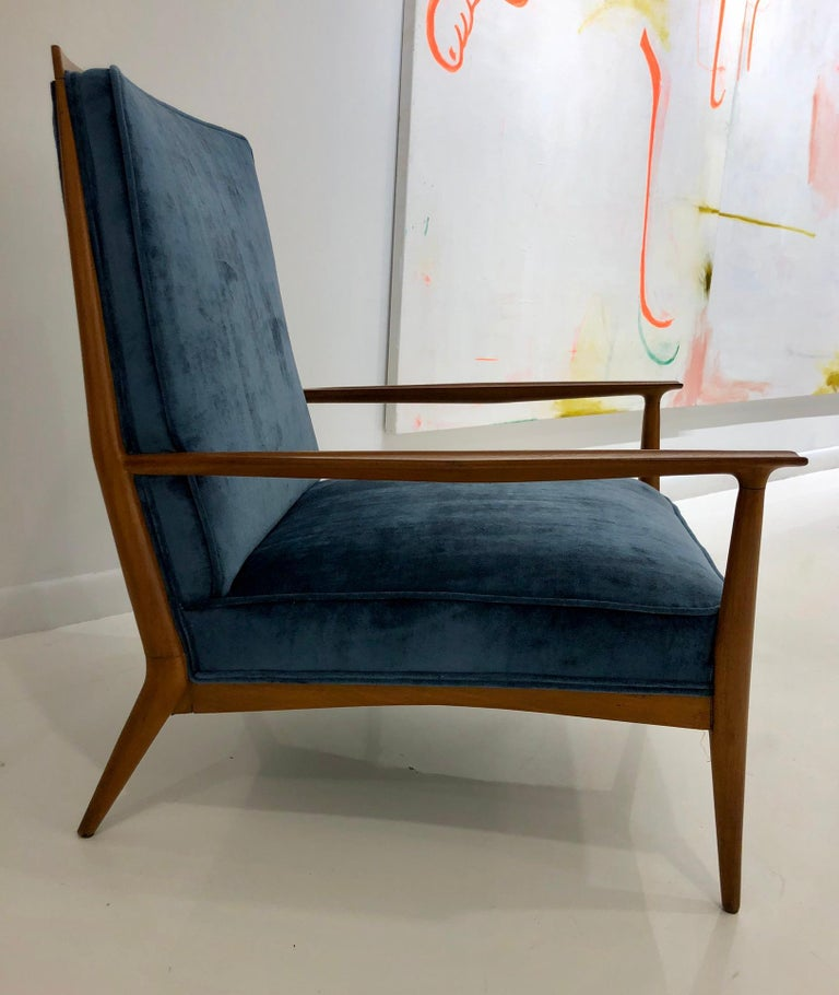 Pair of Paul McCobb Easy Chairs For Sale 3