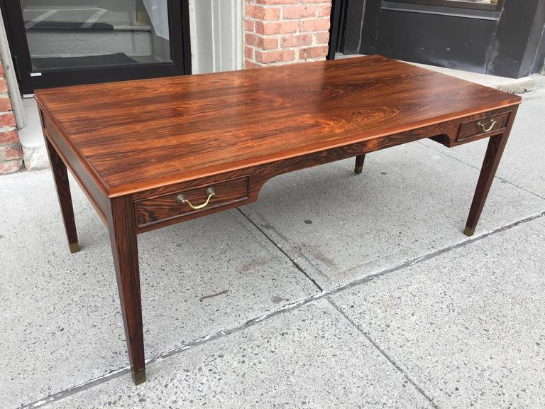 Frits Henningsen Rosewood Coffee Table In Good Condition For Sale In Hudson, NY