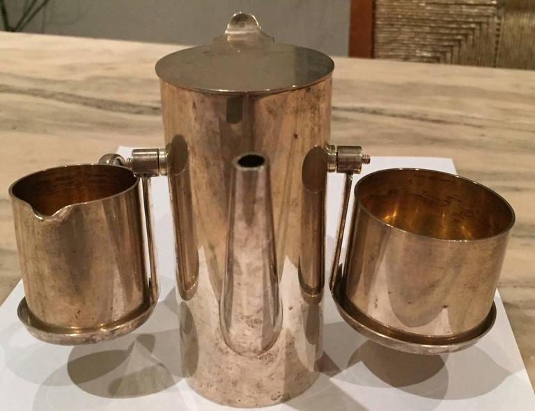Sterling Demitasse Coffee Service by Asprey 4