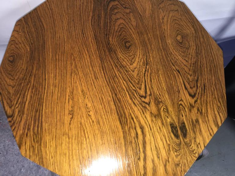 American Harvey Probber Rosewood Bar Table For Sale