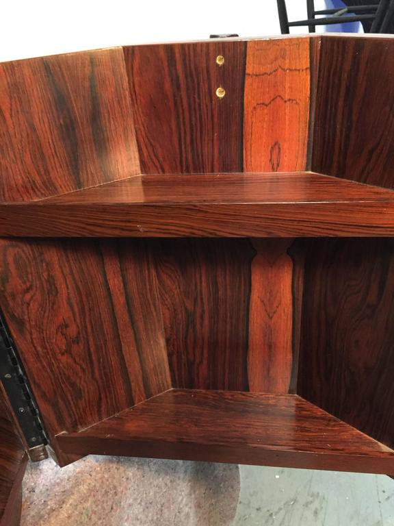 Mid-20th Century Harvey Probber Rosewood Bar Table For Sale