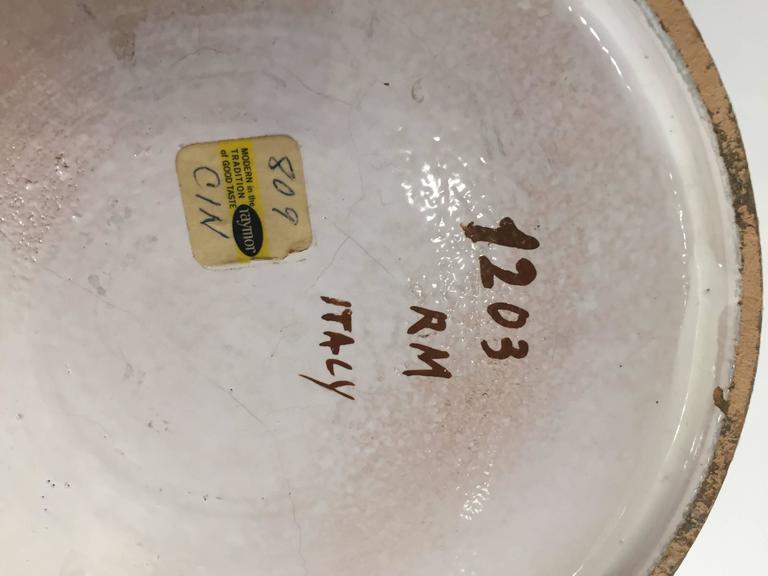 Monumental Ceramic Vase by Bitossi 6