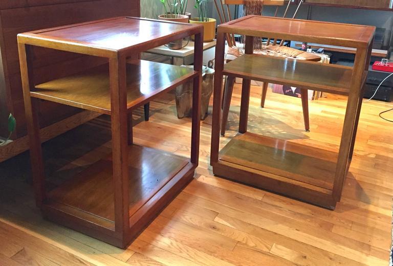 Pair of Custom Order Side Tables by Dunbar 2