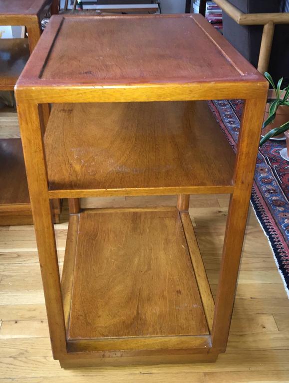 Pair of Custom Order Side Tables by Dunbar 4