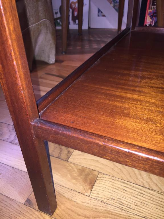 Danish Rare Pair of Ole Wanscher End Tables for AJ Iversen For Sale