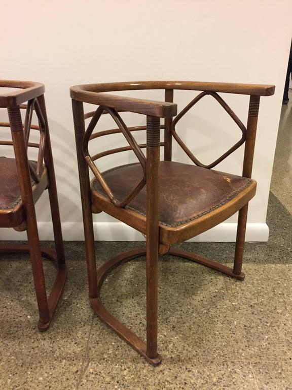 Josef Hoffmann Parlor Set for J and J Kohn 8