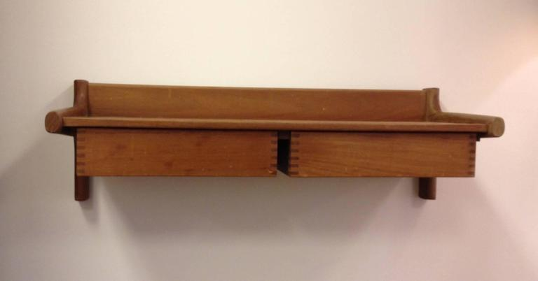 Borge Mogensen Wall-Hanging Console 3