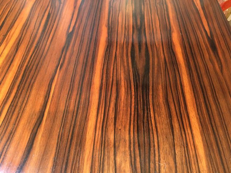 Tommi Parzinger Macassar Ebony Desk In Good Condition For Sale In Hudson, NY