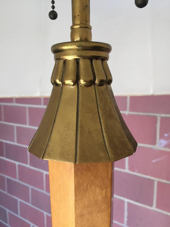 French Deco Floor Lamp Attributed to André Arbus 3