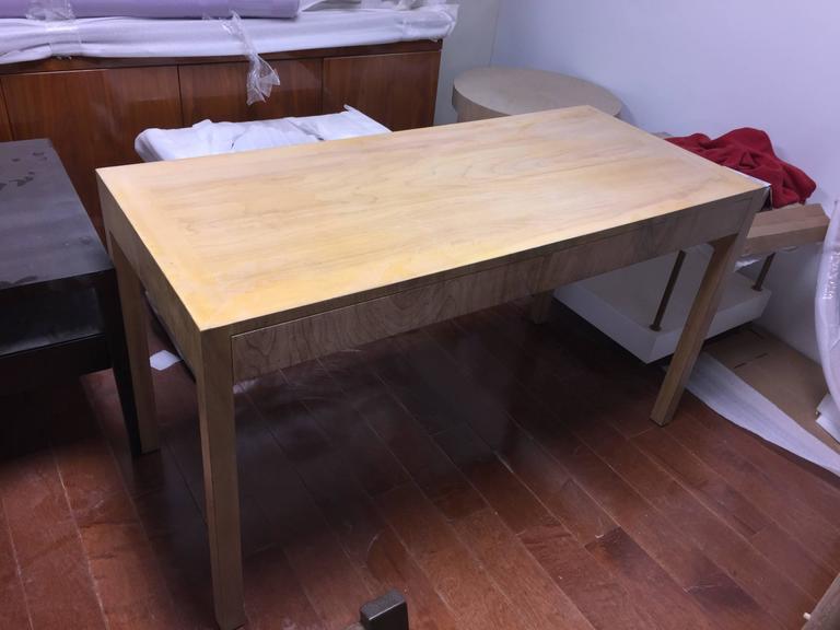 Mid-20th Century Custom Robsjohn-Gibbings Walnut Desk For Sale