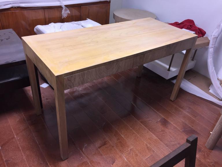 Custom Robsjohn-Gibbings Walnut Desk For Sale 1