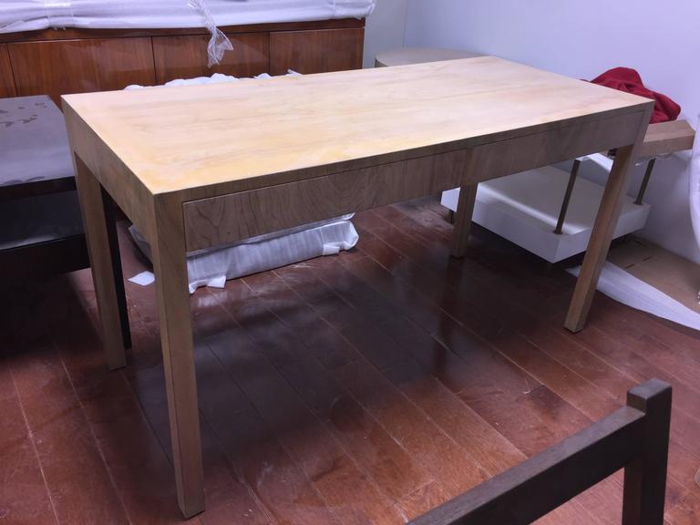 Custom Robsjohn-Gibbings Walnut Desk For Sale 2