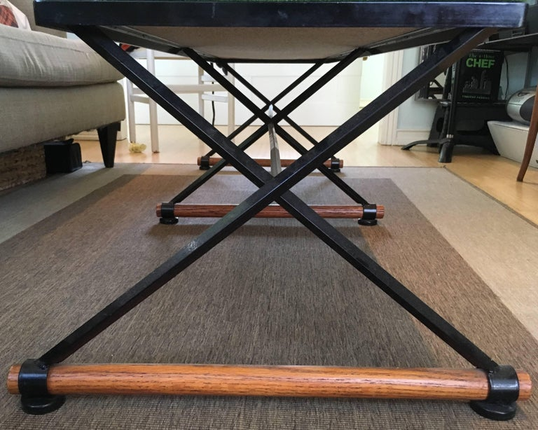Cleo Baldon Style Bench In Good Condition For Sale In Hudson, NY