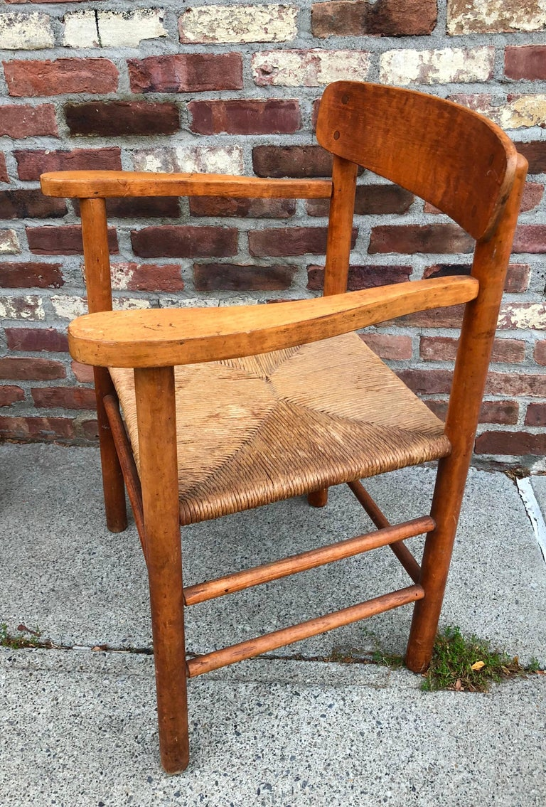 Mid-20th Century Set of Six Borge Mogensen Shaker Dining Chairs For Sale