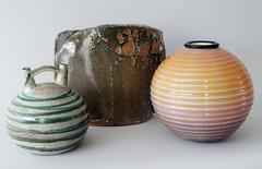 Mid Century Italian Vases