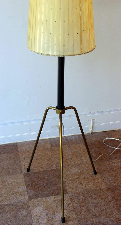 Early Italian Tripod Floor Lamp For Sale At 1stdibs