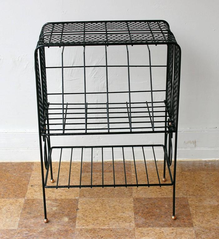 Mid-Century Modern Mategot Style Storage Rack For Sale