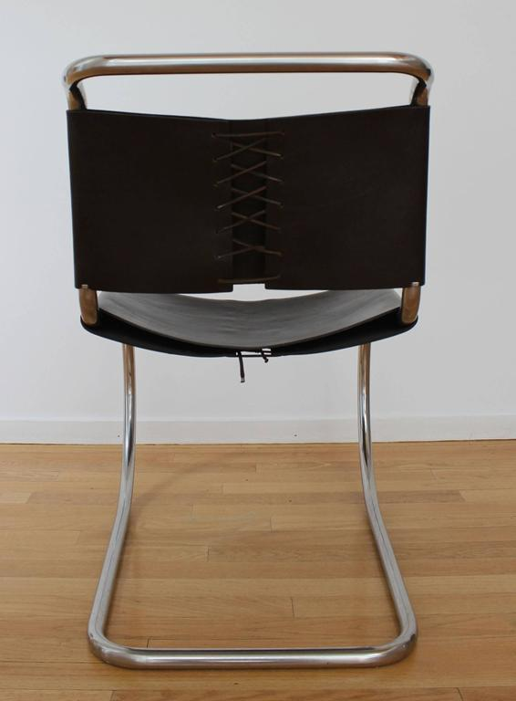 Set of Six MR Chairs In Good Condition For Sale In Southampton, NY