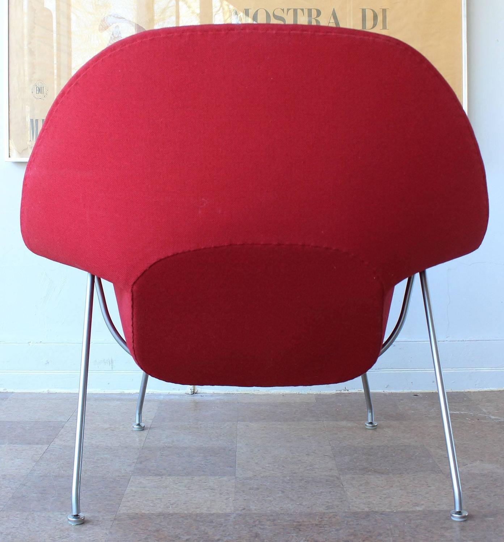 eero saarinen womb chair and ottoman at 1stdibs