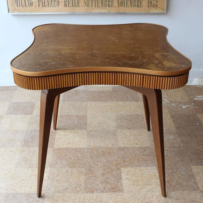 Mid-Century Modern Italian Game Table For Sale