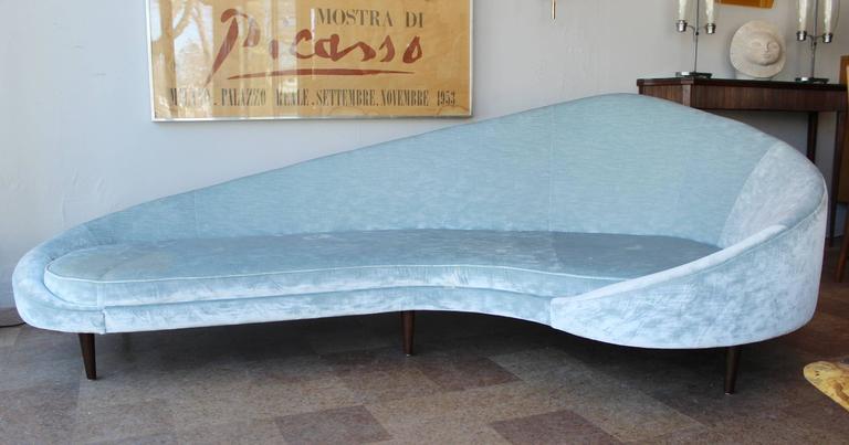 Mid-Century Modern Federico Munari Sofa For Sale