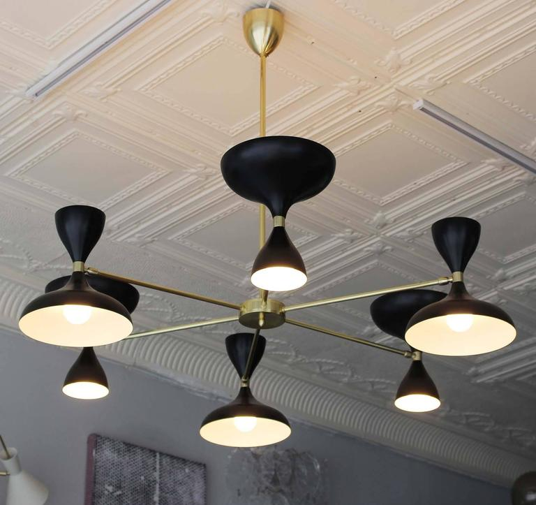 Stellar Union Milano Chandelier In Excellent Condition For Sale In Southampton, NY