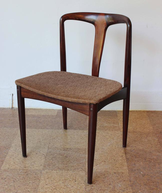 Six Johannes Andersen Rosewood Dining Chairs 2